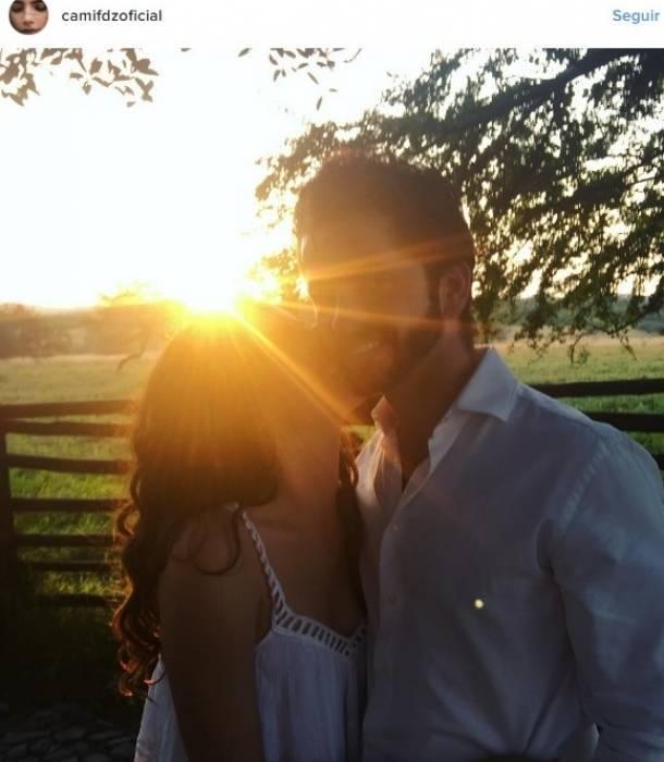 Camila Fernández presenta a su novio en redes sociales