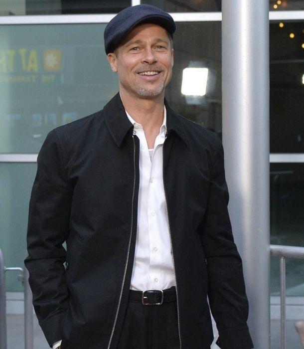 ¡Brad Pitt reaparece más delgado que nunca!