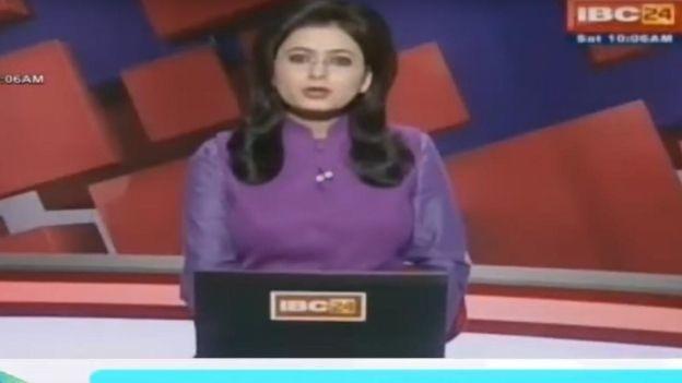 VIDEO: Conductora de noticias se entera en vivo que su esposo había muerto