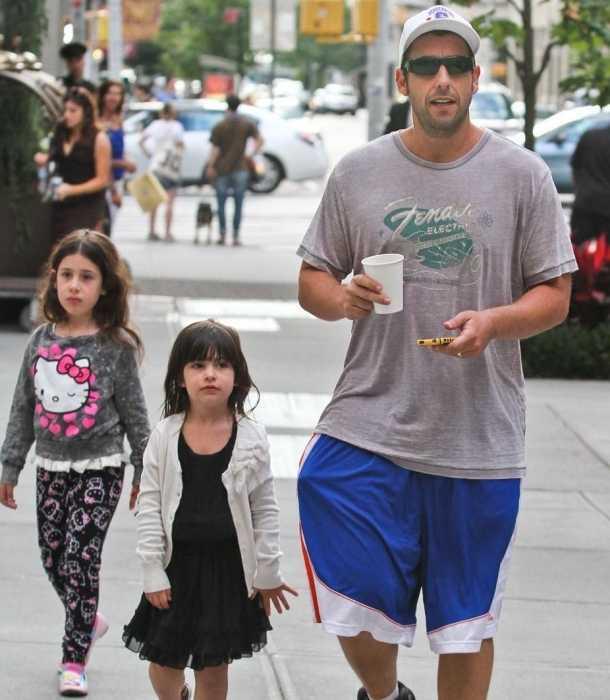 Las hijas de Adam Sandler no ven sus películas