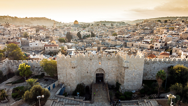 Video: de mochilazo a Tierra Santa en Jerusalén