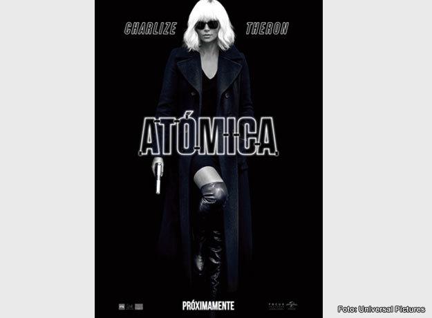 Charlize Theron protagoniza el thriller de acción, Atómica