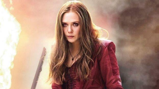 'Bruja Escarlata' se prepara para pelear en filmación de 'Avengers: Infinity War'