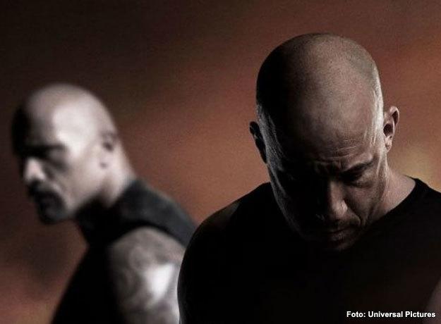 Vin Diesel y Dwayne Johnson protagonizan Rápidos y Furiosos 8