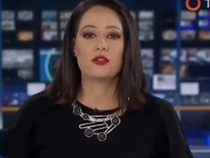 VIDEO: Presentadora de TV no sabía que estaba al aire y así reaccionó