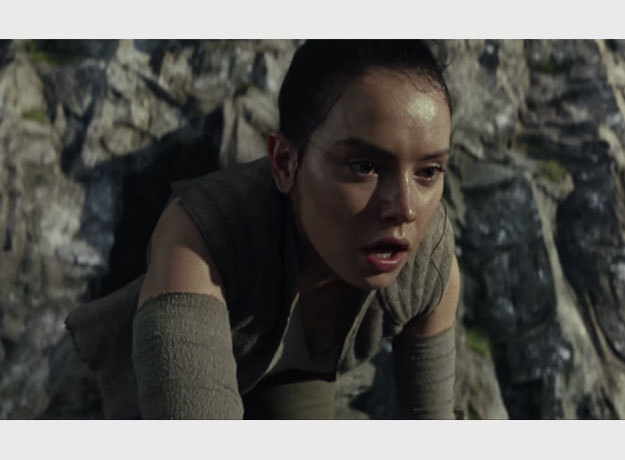 Ray interpretada por Daisy Ridley regresa a Star Wars: Los Últimos Jedi