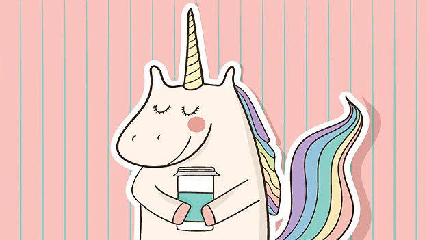 ¿Fan de los unicornios y el café? Ahora puedes tenerlos a ambos en esta nueva bebida