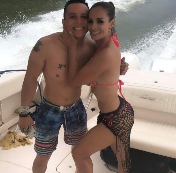 Alma Cero y Edwin Luna se casaron en secreto