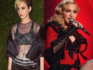 ¡Descubre por qué Katy Perry no podía ver a Madonna ni en pintura!