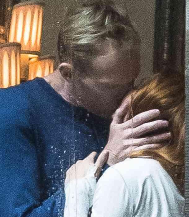'Wanda' y 'Vision' protagonizan ardiente beso en filmaciones de 'Avenger: Infinity War'