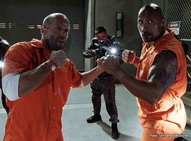 Dwayne Johnson y Jason Statham protagonizarían en spin off de Rápidos y Furiosos