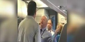 Asistente de American Airlines agrede a pasajero