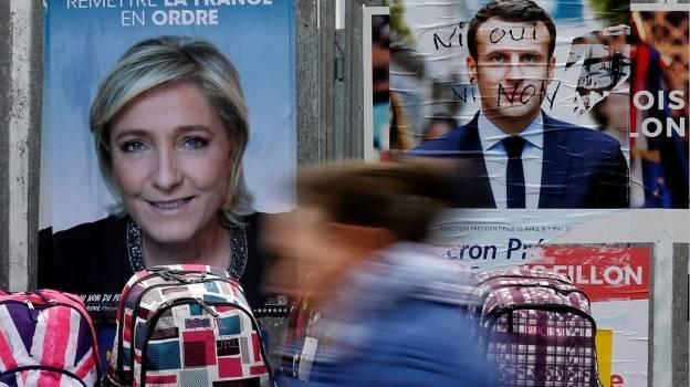 Macron suma el 24.01% y Le Pen el 21.3% tras finalizar el conteo en Francia