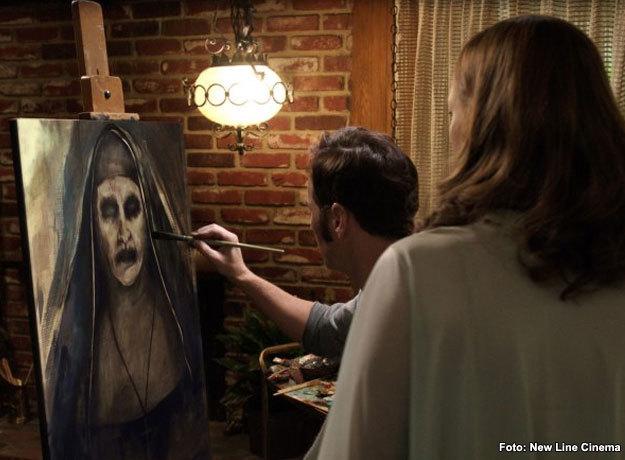 La Monja apareció por primera vez en la película de El Conjuro 2