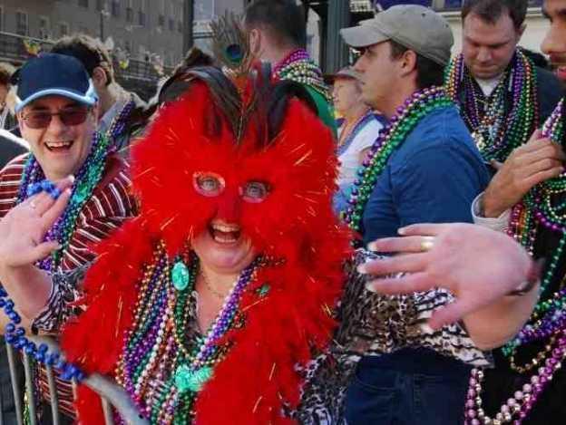 Festival Mardi Grass, desfiles y mucha fiesta
