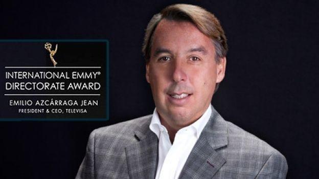 Emilio Azcárraga Jean, Presidente de Grupo Televisa, recibirá el Premio Internacional de Dirección EMMY 2017