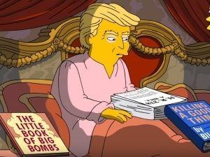 ¡Lo hacen de nuevo! 'Los Simpson' critican al presidente Donald Trump (VIDEO)