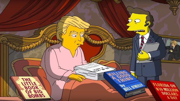 Los 100 días de gobierno de Donald Trump según Los Simpson