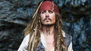 Johnny Depp Jack Sparrow piratas caribe sorpresa video espectaculos