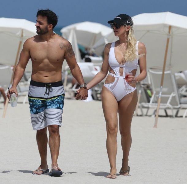 Luis Fonsi lució cuerpazo en Miami