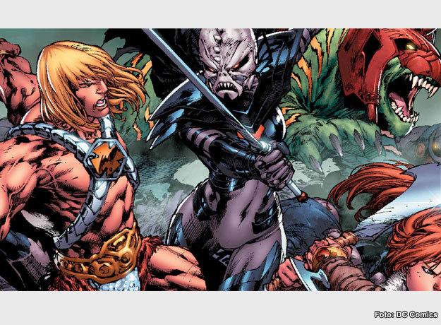 DC Comics lanzó una serie de historietas de He Man y los Amos del Universo