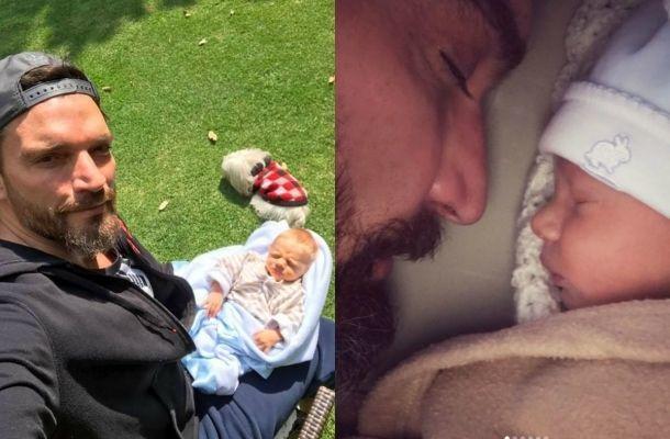 Julián Gil mostró el rostro de su hijo Matías