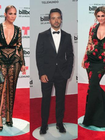 ¡Los mejores y peores vestidos de los Premios Latin Billboard 2017!