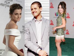 ¡Quéee! 'Chicharito' cambió a Camila Sodi por Emma Watson (FOTO)