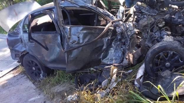 Mueren en accidente 3 hijos del exalcalde de Suchiate, Chiapas