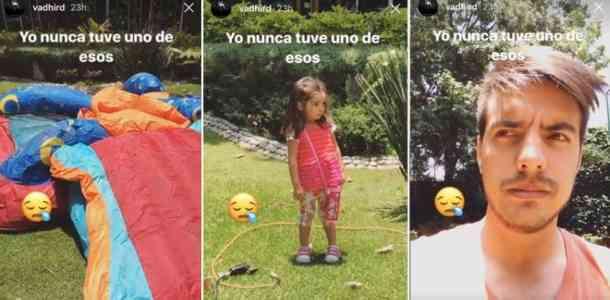 Vadhir Derbez destapa que Aitana es la hija preferida de Eugenio Derbez