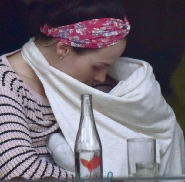 Zuria Vega mostró lo bella que está su hija Lúa