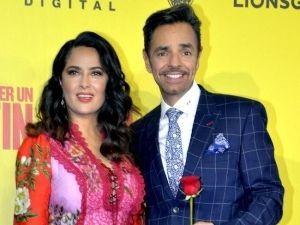 Salma Hayek y Eugenio Derbez presentan en México 'Cómo ser un Latin Lover'