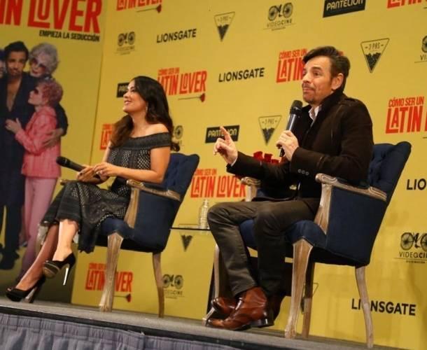 Eugenio Derbez y Salma Hayek protagonizan 'Cómo ser un Latin Lover'