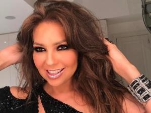 ¡Fuerte confesión! Thalía revela por qué no sube de peso (FOTOS)