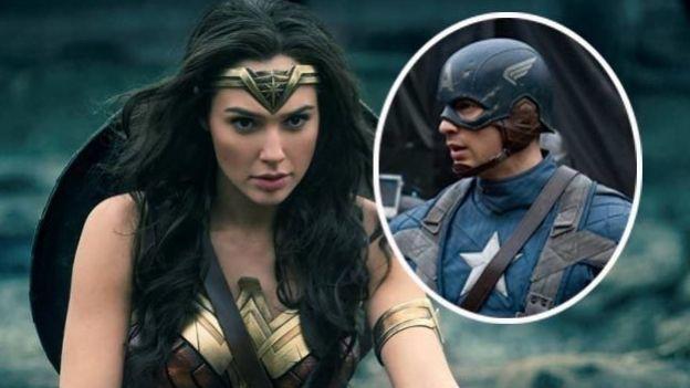 ¡OMG! Comparan a 'Mujer Maravilla' con 'Capitán América'