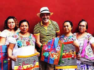 El diseñador francés que trabajó con mujeres mayas para su nueva colección de lujo