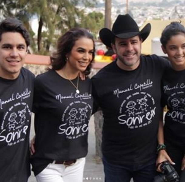 FOTOS: Hijas de Bibi Gaytn y Eduardo Capetillo son