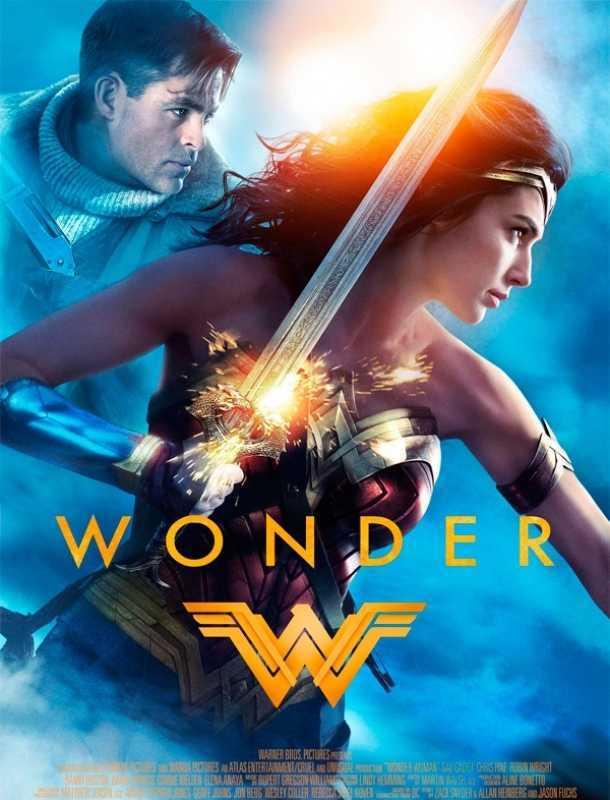 Mira el nuevo póster de la película 'Mujer Maravilla'