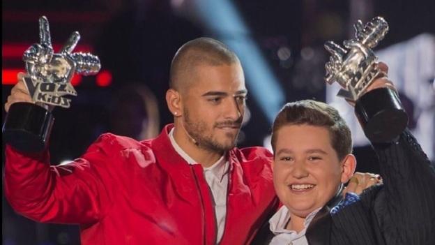 ¡Eduardo Barba del Team Maluma es ganador de La Voz Kids!