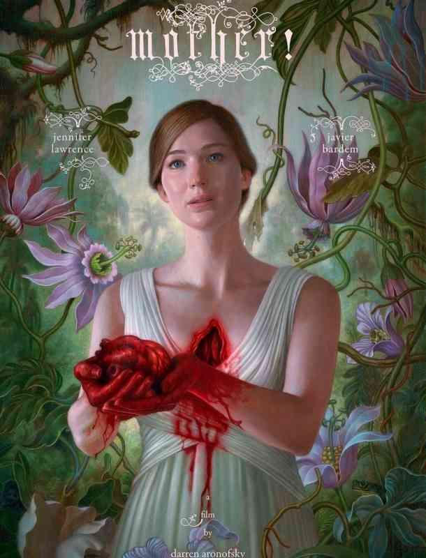 Jennifer Lawrence protagoniza el extraño póster de