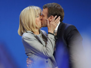 24 años mayor: Brigitte Trogneux, la maestra preferida de Emmanuel Macron