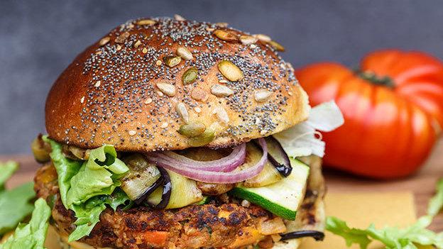¡Recetas para preparar deliciosas hamburguesas vegetarianas!