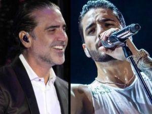 Maluma y Alejandro Fernandez comparten sorpresiva foto juntos