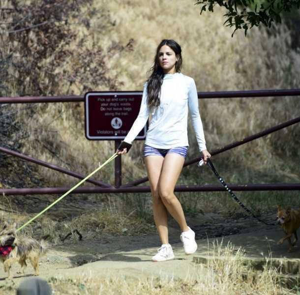 Eiza González apareció con diminutas prendas