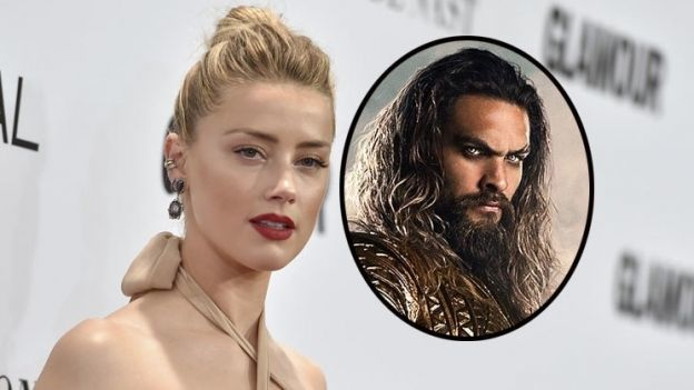 Revelan primera foto de Amber Heard como 'Mera' en 'Aquaman'