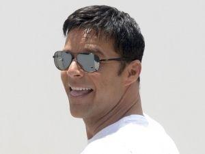 Ricky Martin American Crime Story versace hijos visita instagram