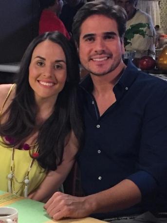 Zuria Vega Daniel Arenas broma Mi Marido Tiene Familia espectáculos promoción