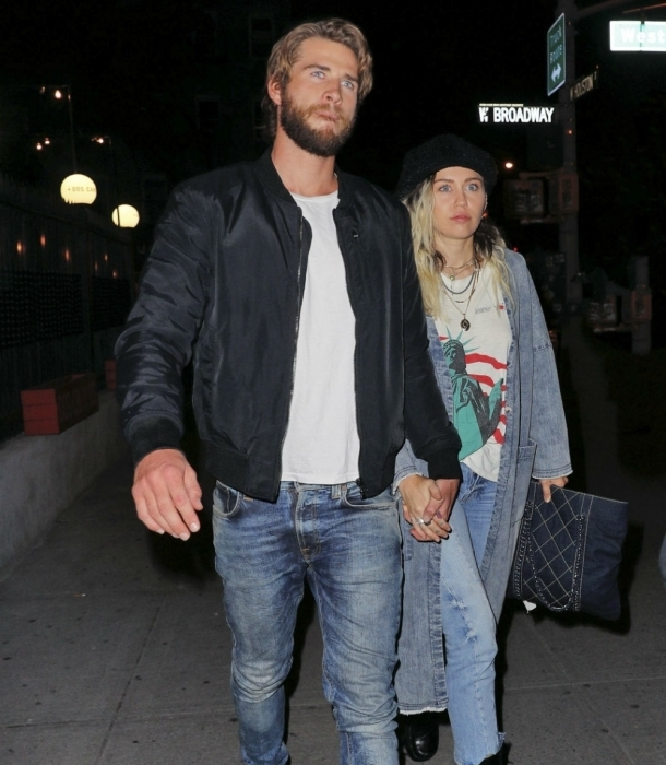 Miley Cyrus está feliz con su noviazgo