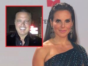 ¡Qué foto! Kate del Castillo publica evidencia de romance con Luis Miguel