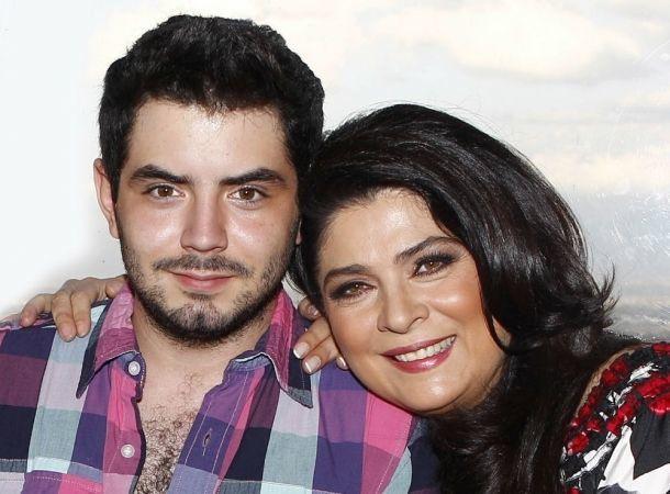 Victoria Ruffo no ha visto las fotos íntimas de su hijo José Eduardo Derbez